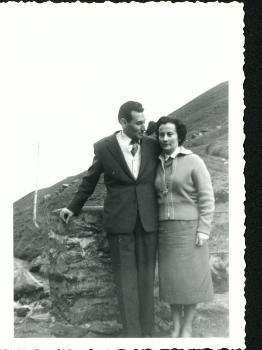 Liberto Sarrau y Joaquina Dorado en 1958